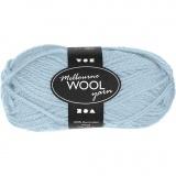 Melbourne Wolle, Helltürkis, L: 92 m, 50 g/ 1 Knäuel