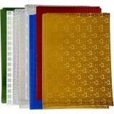 Hologramm Papier, A4, 210x297 mm, 120 g, 80 Bl. sort./ 1 Pck.