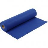 Bastelfilz, Blau, B: 45 cm, Dicke 1,5 mm, 180-200 g, 5 m/ 1 Rolle