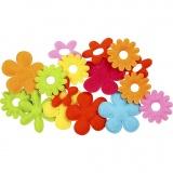 Blumen, Größe 35x45 mm, 16 Stck./ 1 Pck.