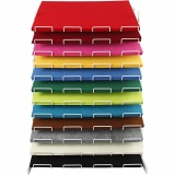 Bastelfilz, Sortierte Farben, 42x60 cm, dicke 3 mm, 120 Bl./ 1 Pck.