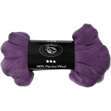 Wolle, Violett, dicke 21 my, 100 g/ 1 Pck.