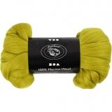Wolle, Zitronengelb, dicke 21 my, 100 g/ 1 Pck.