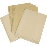 Sandpapier, Sortiment, 30 Bl. sort./ 1 Pck