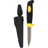 Messer mit Futteral, L: 10 cm, B: 2,5 cm, 1 Stck.