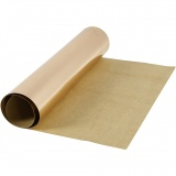 Kunstlederpapier, Rosa gold, B: 49 cm, Einfarbig,Foliedetails, 350 g, 1 m/ 1 Rolle