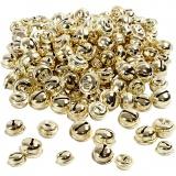 Schellen, Gold, D: 13+15+17 mm, 220 sort./ 1 Pck