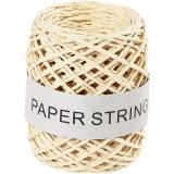 Papierkordel, Natur, Dicke 1 mm, 50 m/ 1 Rolle