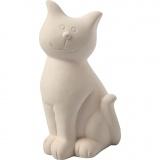 Spardose, Katze, H: 14 cm, 8 Stck./ 1 Box