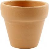 Blumentopf, H: 4,2 cm, D: 5 cm, 48 Stk/ 1 Box