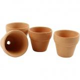 Blumentopf, H: 3,1 cm, D: 3,4 cm, 48 Stk/ 1 Box