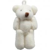 Mini-Teddybär , Größe 4x2,5 cm, 6 Stck./ 1 Pck.
