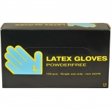 Latex-Handschuhe, Größe large , 100 Stck./ 1 Pck.