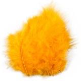 Federn, Gelb, Größe 5-12 cm, 15 Stck./ 1 Pck.