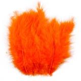 Federn, Orange, Größe 5-12 cm, 15 Stck./ 1 Pck.
