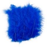 Federn, Blau, Größe 5-12 cm, 15 Stck./ 1 Pck.