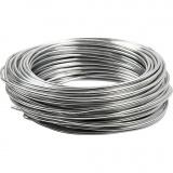 Aluminiumdraht, Silber, rund, dicke 3 mm, 29 m/ 1 Rolle