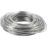 Aluminiumdraht, Silber, Dicke 2,5 mm, 75 m/ 1 Rolle