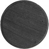 Magnete, D: 20 mm, dicke 3 mm, 50 Stck./ 1 Pck.