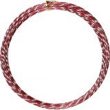 Aluminiumdraht, Rot, diamond-cut, dicke 2 mm, 7 m/ 1 Rolle