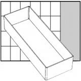 Einsetz-Box, Nr. A7-2, H: 47 mm, Größe 218x79 mm, 1 Stck.