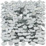 Spiegelmosaik, rund, D: 10 mm, 500 Stck./ 1 Pck.