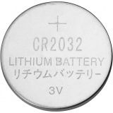 Batterien, D: 20 mm, 6 Stk/ 1 Pck