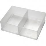 Einsetz-Box, Nr. BA6-1, H: 80 mm, Größe 157x109 mm, 2 Stck./ 1 Pck.