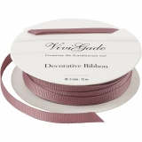 Zierband, Rosa, B: 6 mm, 15 m/ 1 Rolle