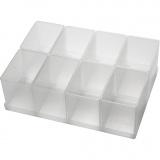 Einsetz-Box, Nr. BA8-1, H: 80 mm, Größe 79x55 mm, 8 Stck./ 1 Pck.