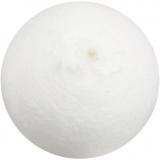 Kugel, Weiß, D: 40 mm, 100 Stck./ 1 Pck.