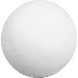Kugel, Weiß, D: 50 mm, 50 Stck./ 1 Pck.