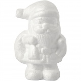 Nikolaus, Weiß, H: 11 cm, 1 Stck.