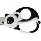 Kinderschere mit Tiermotiv, Panda, L: 13 cm, 1 Stck.