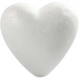 Herz, Weiß, H: 8 cm, 50 Stck./ 1 Pck.