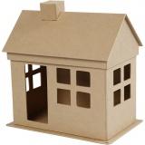 Haus, H: 23 cm, L: 22,5 cm, 1 Stck.