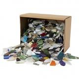 Mosaiksteine, Sortierte Farben, Größe 8-20 mm, 2 kg/ 1 Pck