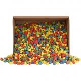 Mosaiksteine, Kräftige Farben, Größe 8-10 mm, 2 kg/ 1 Pck
