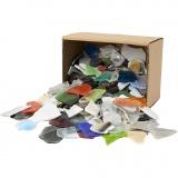 Mosaiksteine, Sortierte Farben, Größe 15-60 mm, 2 kg/ 1 Pck