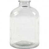 Apotheker-Flasche, H: 16,5 cm, D: 11 cm, Lochgröße 2,6 cm, 6 Stck./ 1 Box