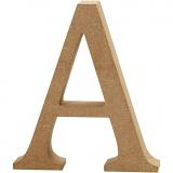 Buchstabe, A, H: 13 cm, dicke 2 cm, 1 Stck.