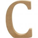 Buchstabe, C, H: 13 cm, dicke 2 cm, 1 Stck.