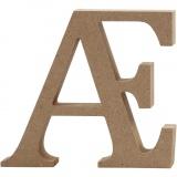 Buchstabe, Ä, H: 8 cm, dicke 1,5 cm, 1 Stck.
