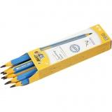 Kinder-Bleistift, L: 14 cm, dicke 10 mm, Mine 4 mm, 12 Stck./ 1 Pck.