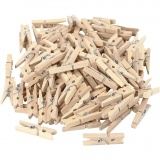 Holzklammern, L: 30 mm, B: 3 mm, 100 Stck./ 1 Pck.