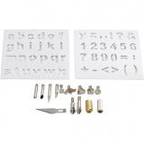 Metall-Aufsatzspitzen, D: 1-15 mm, 1 Set