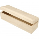 Holzkasten, Größe 20x6x6 cm, 1 Stck.