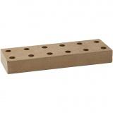 Halter für Berol Fasermaler, Größe 20x6,5x2,5 cm, 1 Stck.