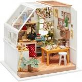 DIY-Miniatur-Zimmer, Küche, H: 18,7 cm, B: 19 cm, 1 Stck.