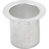 Kerzenhalter, H: 15 mm, D: 12 mm, 20 Stk/ 1 Pck